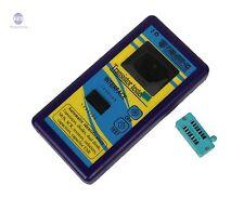 Color LCD Component Tester Transistor Diode Capacitance ESR Meter Inductance