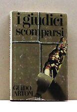I GIUDICI SCOMPARSI - G. Artom [Libro]