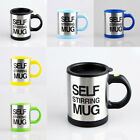 Double Insulated Self Stirring Mug 400ml Electric Coffee Cup Self Stirring Mug