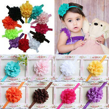 Girl Flower Headband Hair Band Cute Baby Toddler Infant Bow Accessories 10pcs