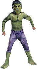 AVENGERS AGE OF ULTRON HULK BOYS RUBIES COSTUME SIZE MEDIUM 8/10  NEW