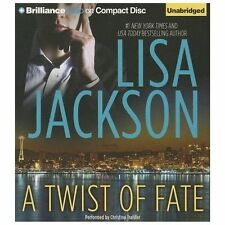 A Twist of Fate by Lisa Jackson (2013, CD, Unabridged)