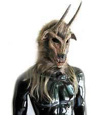Got Your Goat Devil Demon Horned Beast Krampus Adult Latex Halloween Mask