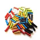 10 x GEAR BRAKE WIRE BIKE INNER CABLE END COLOUR FERRULE CRIMP TIDY NIPPLE COVER
