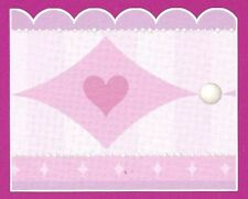 "Large 17.25"" Accent Pink & Purple Princess Wallpaper Border DP026400"