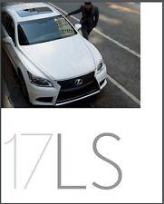 2017 Lexus LS LS460 and F Sport 42-page Original Car Sales Brochure Catalog