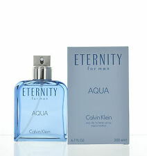 Eternity Aqua by Calvin Klein for Men  Eau de Toilette 6.7 oz 200 ml Spray