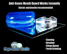 Stop Snoring Mouthpiece Apnea Aid Sleep Anti Snore Bruxism Grind MouthGuard
