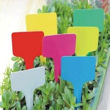 Particular 6 X10cm Nursery Garden Labels Plastics Plant T-type Tags Markers