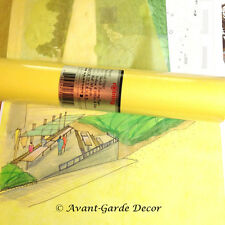 "12"" 50m tracing paper/butter paper Yellow Roll Draft Sketch Paper"