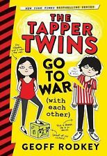The Tapper Twins Go to War (with Each Other) Great for Teachers Homeschool NEW