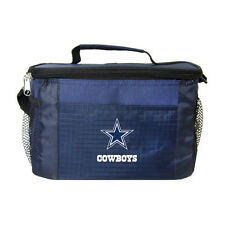 Dallas Cowboys Insulated Cooler Zipper Lunch Bag Box Tote 6 Pack NFL NWT