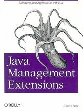 Java Management Extensions by J. Steven Perry (2002, Paperback)