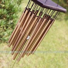 Amazing 16 Tubes Fish Tassel Yard Garden Outdoor Church Living Wind Chimes 65cm