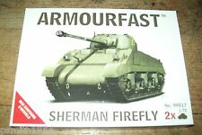 ARMOURFAST  SHERMAN FIREFLY   X  2  1/72  scale kit