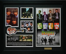 The Beatles Limited Edition Signature Framed Memorabilia New (b)