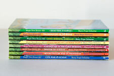 Lot of 8 (#21-28) MAGIC TREE HOUSE Series Higher Number Set Books for Ages 7-10