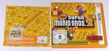 "Nintendo 3ds jeu ""New super Mario Bros. 2"" Deutsche version commerciale complètement"