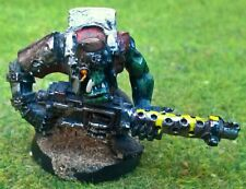 Warhammer 40K-Space Orks-Boy W. Eavy Weapon (ref 1) - Pro Pintado-Excelentes Con