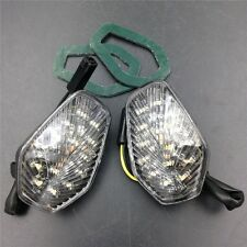 Turn signal lights Fit GSXR 600 750 1000 2001 2002 2003 2004 Clear LED lights