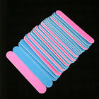 100Pcs Nail Art Manicure 2-Side Buffing Sanding Files Nail Buffer Tool Shiner