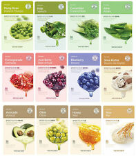 [The Face Shop] Real Nature Mask (Set of 11 Sheet Masks) US SELLER Free Shipping