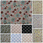 Paisley and Floral Fabric FAT QUARTER, HALF METRE OR METRE 100% Cotton.