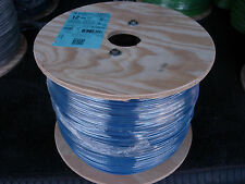 2500 FT  SPOOL OF # 12 STRANDED THHN COPPER WIRE - NEW  (BLUE)