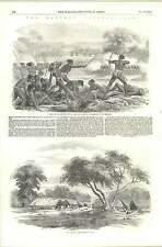 1856 India Santhal Insurrection Suppressed Attack 50 Sepoys Hill Village