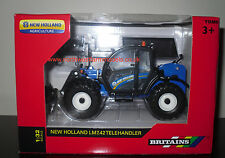 43085A1 BRITAINS FARM 1/32 SCALE NEW HOLLAND LM7.42 TELEHANDLER (MIB) BRAND NEW