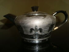 Beautiful 1953 English teapot souvenir celebrating QEII coronation