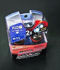 GENUINE 4350K MTEC H11 SUPER WHITE XENON HID BULBS