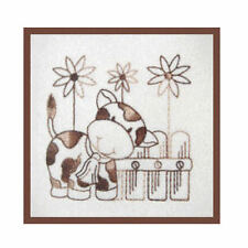 1105:  Machine Embroidery Designs - Country Time - Redwork