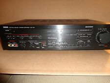 Yamaha AVC-50 Natural Sound Stereo Amplifier Play Tested Remote & Manual Inc