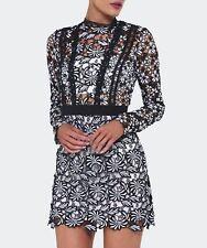 Self-Portrait Antoinette Crocheted lace Dress Mini Brand New BNWT UK 12 IT 44