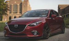 Mazda 3 MS Style Front Lip for 2014 up Mazda 3 Hatch & Sedan Model