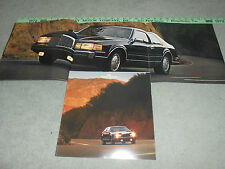 1986 LINCOLN MARK VII HUGE 22 Page PRESTIGE CATALOG / BROCHURE LSC, BILL BLASS +