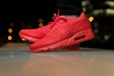 Nike Air Max 90 Ultra Moire Bright Crimson Men Running Shoes 819477-600 Size 13