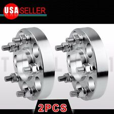 25MM HUB CENTRIC WHEEL SPACERS 5x114.3 (5X4.5) 66.1 CB 12X1.25 1 INCH