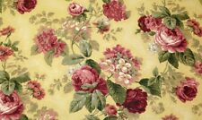 "RICHLOOM JULIA YELLOW EMBOSSED FLORAL 55035 MULTIPURPOSE FABRIC BY THE YARD 54""W"