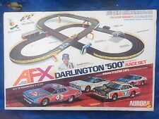 Vintage 1977 Aurora AFX Darlington 500 Model Motoring Race Set Complete in Box