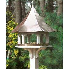 Lazy Hill Farm Designs Carousel Bird Feeder with Polished Copper Roof - 42506