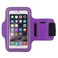 """Sports Armband Case Running Jogging Gym Holder for iPhone 6 4.7"""" - Purple"""