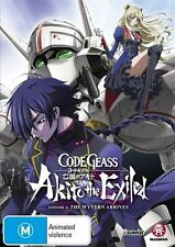 Code Geass: Akito the Exiled Ep 1: The Wyvern Arrives (Subtitled Ed) NEW R4 DVD