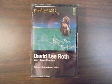 "NEW SEALED ""David Lee Roth"" Crazy From The Heat Cassette Tape   (G)"
