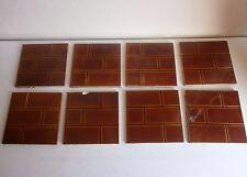 antique victorian fire surround tiles
