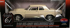 HIGHWAY 61/DCP 1:18 SCALE DIECAST METAL BEIGE 1964 DODGE 330 HEMI SUPER STREET