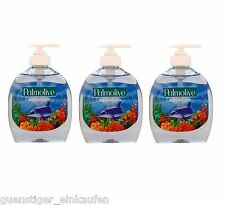 3x 300ml Palmolive aquarium liquide Savon pour les mains pratique Distributeur