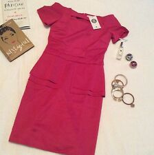 Apartment 8 Emmanuel Dress  - Medium - Hot Pink - BNWT ( celebrity x zara)