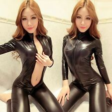 Wetlook latex naturel Jumpsuit Catsuit Overall noir taille s, taille 34-38